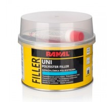 RANAL Uni - универсальная полиэфирная шпатлевка 0.25 кг