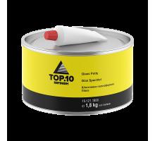 Шпатлевка TOP.10  полиэфирная Glass 1.8 кг