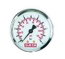 SATA Манометр 0-10 бар для фильтров серий 200, 300 и 400