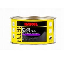RANAL PROFI - Полиэфирная шпатлевка для профессионального применения SOFT 1 кг