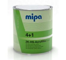 MIPA ACRYLFILLER HS грунт-наполнитель 4+1 комплект 4 л