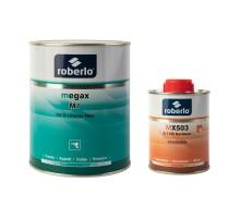 ROBERLO MEGAX M1 Грунт-наполнитель, светло-серый 1 л + MX503 отвердитель 0,2 л (комплект)