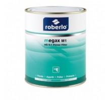 ROBERLO MEGAX M1 Грунт-наполнитель, светло-серый 4 л + MX503 отвердитель 0,8 л (комплект)