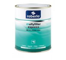 ROBERLO MULTYFILLER EXPRESS ME-0 Грунт-наполнитель быстросохнущий, белый 4 л + Р5000 стандартный отвердитель 1 л (комплект)