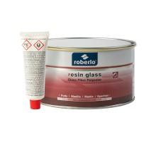 ROBERLO RESIN GLASS Шпатлевка со стекловолокном 1,5 кг
