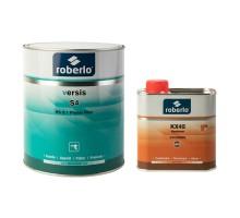 ROBERLO VERSIS S1 Грунт-наполнитель, белый 2,5 л + KX45 отвердитель 0,5 л (комплект)