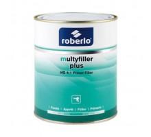 ROBERLO MULTYFILLER PLUS Z-1 Грунт-наполнитель, светло-серый 4 л + F500  отвердитель 1 л (комплект)