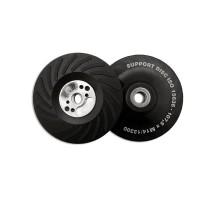 Оправка для фибровых кругов 125мм, жёсткая, ребристая M14