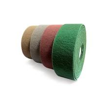 Нетканный абразив, FINE, 115мм х10м, зелёный