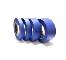 Малярная лента 18мм х 50м ROXTOP 7095,водостойкая,УФ стойкая, 95°,синяя