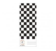 Бумажные тест-панели 7 х 18 см, чёрно-белые