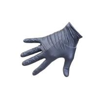 Перчатки нитриловые ROXONE, чёрные, размер M, упаковка 100 шт.