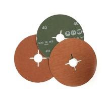 Фибровый шлифовальный круг ROXPRO Р-24 125х22мм, керамика