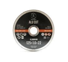 Отрезной круг ROXTOP ALU CUT 125 x 1.0 x 22мм, Т41, нерж.сталь,металл