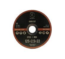 Отрезной круг ROXTOP HARD CUT 125 x 1.0 x 22мм, Т41, нерж.сталь,металл