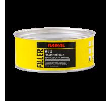RANAL ALU - полиэфирная шпатлевка c алюминиевым порошком 1 кг