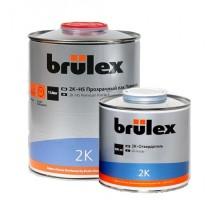 Лак прозрачный BRULEX HS  1,5 литра (комплект)