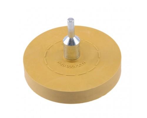 Диск гладкий FITTER для снятия скотча с адаптером 100*15 мм