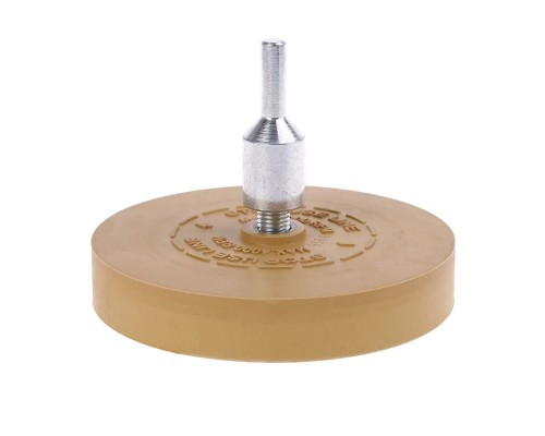 Диск гладкий FITTER для снятия скотча с адаптером 88*15 мм
