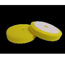 Полировальный круг FITTER, желтый универсальный с отверстием на липучке D-150 мм