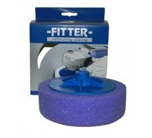 FITTER Полировальный круг на резьбе фиолетовый