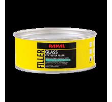 RANAL GLASS MICRO - полиэфирная стекловолоконная шпатлевка 1 кг