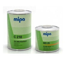 MIPA Klarlack С-210 лак 2-K MS 1,5 л (комплект)