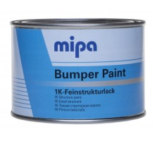 MIPA BUMPER PAINT структурная краска для бамперов 0.5 л