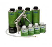 MIPA PROTECTOR комплект защитного покрытия с отвердителем и пульверизатором 4 л (колеруемый)