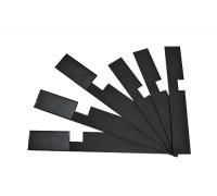 Палочка для размешивания материалов TOP.10  черная 20 см (30 шт.)