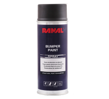 RANAL BUMPER - Структурная краска для бамперов черная аэрозоль 400 мл