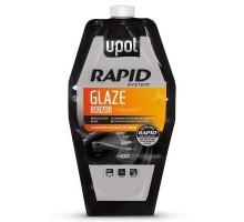Шпатлевка U-POL RAPID GLASE  быстросохнущая самовыравнивающаяся 880 мл пакет