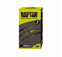 Защитное покрытие RAPTOR™ U-POL комплект черный, 0.95 л.