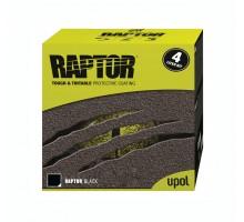 Защитное покрытие RAPTOR™ U-POL комплект чёрный, 3.8 л.