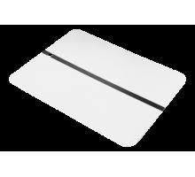 Металлическая тест-пластина TOP.10  белая