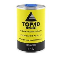 Прозрачный лак TOP.10 2K UHS Air Dry 1:1 2 литра комплект