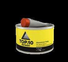 Шпатлевка TOP.10  с алюминиевым наполнителем  1 кг