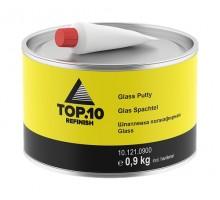 Шпатлевка TOP.10 полиэфирная Glass 0.9 кг