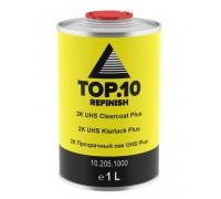 Прозрачный лак TOP.10 2K  UHS Plus 1.5 литра комплект